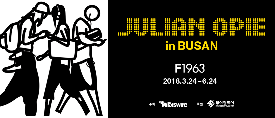 JULIAN OPIE in BUSAN